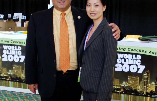 2007 World Clinic – Tiffany with ASCA Executive Director John Leonard